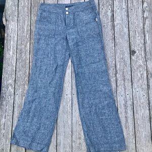 Inc linen pants women's sz 6 x 32